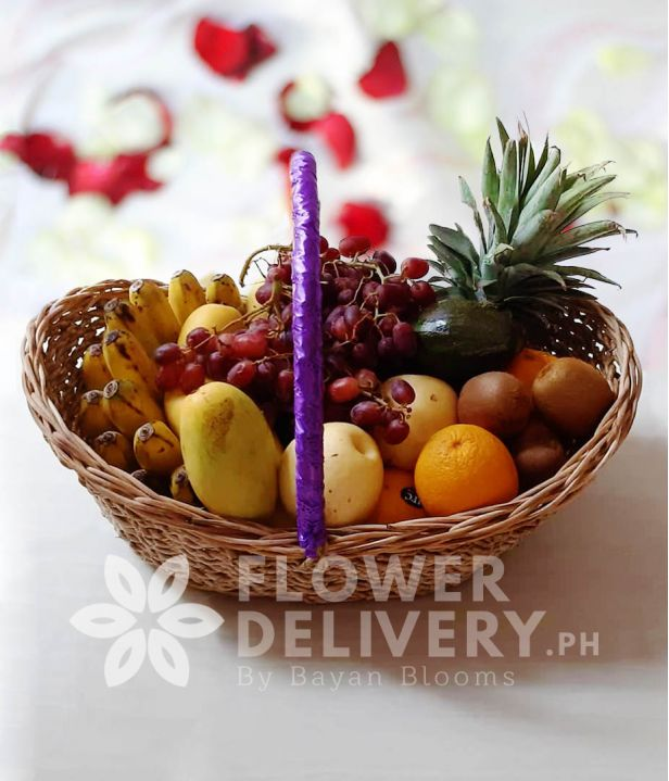 Flower Delivery Philippines Fruit Basket